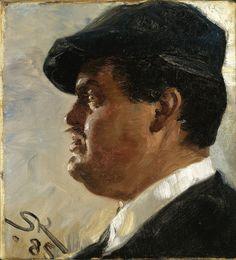 P.S. Krøyer - Carl Locher - Google Art Project - Skagen Painters - Wikipedia, the free encyclopedia