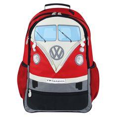 VW Bulli T1Rucksack in rot