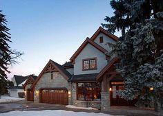 Canterra Custom Homes Ltd. Home Builders, Custom Homes, Luxury Homes, Exterior, Cabin, House Styles, Beautiful, Home Decor, Luxurious Homes