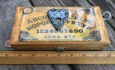 OOAK Miniature Travel VAMPIRE HUNTERS Kit! Ouija Spirt Board by HalesHaven on Etsy