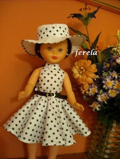 Nancy Ferela. Vestido para muñeca Nancy Clásica.Modelo Margaretta. African Dresses For Kids, Dresses Kids Girl, Kids Outfits, Dog Clothes Patterns, Girl Dress Patterns, Baby Doll Clothes, Baby Dolls, Vestidos Nancy, Kids Girls