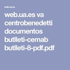 web.ua.es va centrobenedetti documentos butlleti-cemab butlleti-8-pdf.pdf