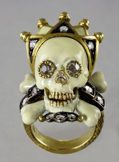 Founder Simeone Codognato's fascination with the macabre was evident in his skull rings.