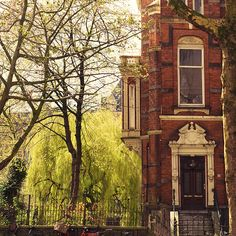 I've always wanted to live in an old brick apartment building. So romantic.