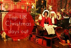 The top Christmas days out at UK attractions this festive season.