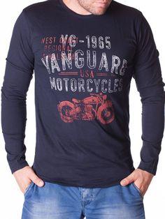 Bluza barbati Vanguard USA Usa, Interior Design, Mens Tops, T Shirt, Women, Fashion, Nest Design, Supreme T Shirt, Moda
