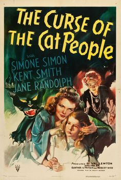 """The Curse Of The Cat People"" With Simone Simon, Kent Smith, Jane Randolph…"