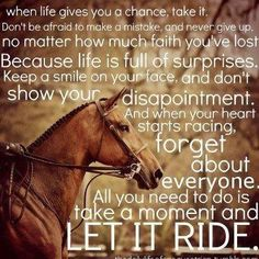 Discover and share Inspirational Quotes About Riding Horses. Explore our collection of motivational and famous quotes by authors you know and love. Equine Quotes, Equestrian Quotes, Western Quotes, Hunting Quotes, Equestrian Problems, Equestrian Style, Country Girl Quotes, Country Girls, Country Life