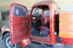 International KB5 trucks | 1949 International KB5 Dump bed
