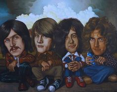 Led Zeppelin caricature