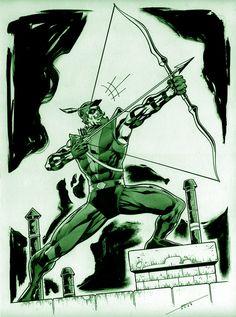 Green Arrow by Marcelo Mueller