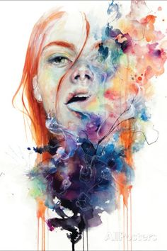 This Thing Called Art Is Really Dangerous Wall sign von Agnes Cecile bei AllPosters.de