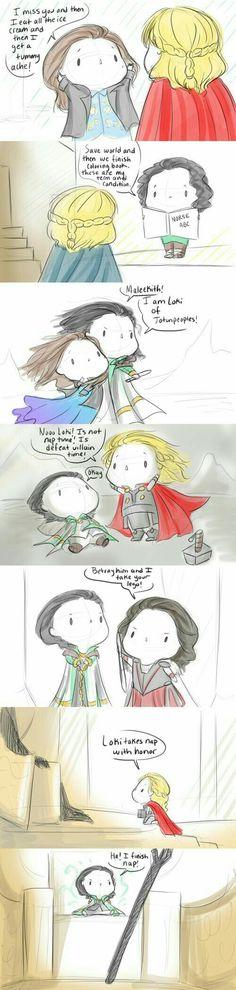 Baby Avengers Thor2