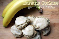 Banana Cookies!  Delicious! @Rach H