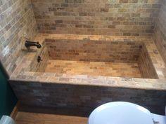 Nice Tiled Tub · Bathtub RedoBath ...