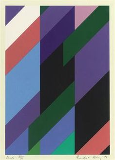 Bridget Riley, Shade (Schubert 37)