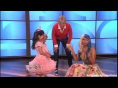 ▶ Sophia Grace & Rosie - Meet Nicki Manaj - The Ellen Show - YouTube