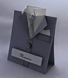 Scrapperypa: Dressjakkebordkort Tablecard suit for christing