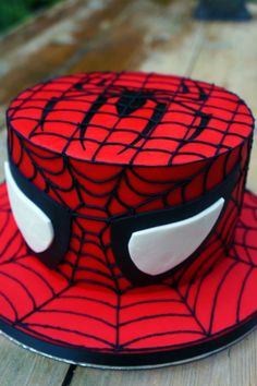 Spiderman Cake - visit to grab an unforgettable cool 3D Super Hero T-Shirt!
