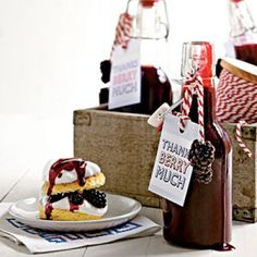 Fresh Blackberry Dessert Recipes: Blackberry Syrup