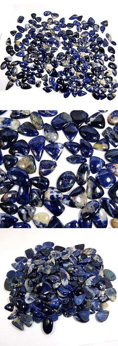 Sodalite 69179: Aaa Rare Unbelievable 2715 Cts 100% Natural Sodalite Loose Gemstone Lot 180 Pc BUY IT NOW ONLY: $88.5