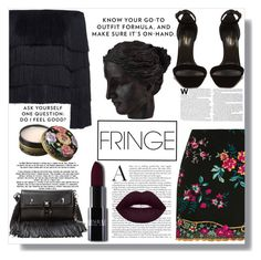 """fancy fringe"" by dariafrank ❤ liked on Polyvore featuring A.L.C., Topshop, Fendi, Yves Saint Laurent, Anna Sui and Ren-Wil"