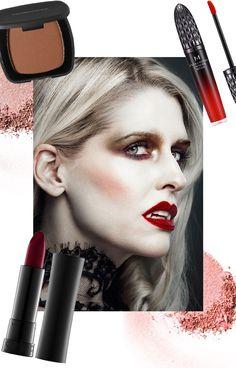 Vampire Make Up #Halloween Vamp