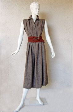 Rare Claire McCardell Monastic Dress with provenance Collectors, Museums image 2