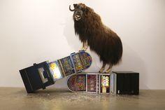 """Dolk """"Wildlife"""" Exhibition.  Photo : Øystein Haara of Goblinmag"""