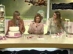 Como hacer una torta de cumpleaños - Pastelería romántica - YouTube