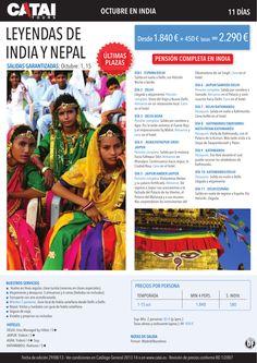 Ultimas Plazas Octubre en INDIA: Leyendas de India y Nepal, pc, salidas gantizadas, 11d desde 2.290€ - http://zocotours.com/ultimas-plazas-octubre-en-india-leyendas-de-india-y-nepal-pc-salidas-gantizadas-11d-desde-2-290e/