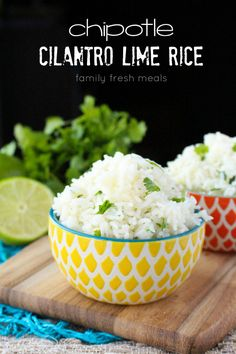 Don't you just LOVE Chipotle? It's really easy to mimic their magical rice! My Copycat Chipotle Cilantro Lime Rice recipe is spot on and is so easy to make!