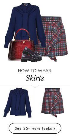 """winter skirt"" by bodangela on Polyvore featuring moda, MSGM, women's clothing, women, female, woman, misses e juniors"