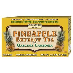 Only Natural Tea Pineapple Extract Garcinia Cambogia