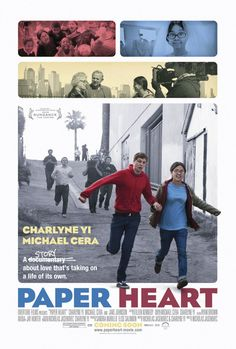 Paper Heart , starring Charlyne Yi, Michael Cera, Jake Johnson, Gill Summers. Charlyne Yi embarks on a quest across America to make a documentary about the one subject she doesn't fully understand: Love. #Comedy #Drama #Romance
