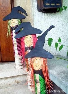 Hexen Diy Halloween Decorations, Handmade Decorations, Halloween Crafts, Adult Halloween Party, Halloween Birthday, Fall Crafts, Crafts For Kids, October Crafts, Christmas Diy