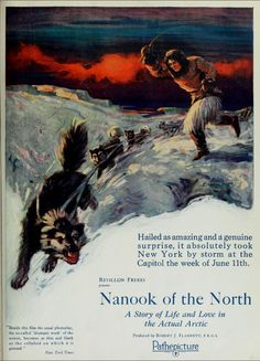 nanook of the north essay Nanook of the north pioneered these ideas, and it remains nearly matchless in executing them film essays (1220) video (1189) the daily (616) clippings (508.