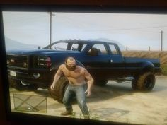 My lifted truck gta5