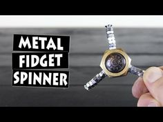 DIY Nut Hand Spinner Fidget Toy | NEW GIVEAWAY