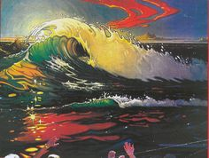 Bill Ogden art Magazine ad. Surf Art