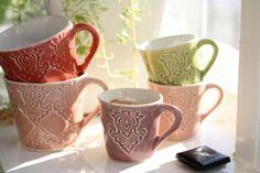 Beautiful ornamental cups.
