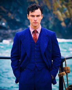 Aidan Turner as Philip Lombard. ▪️And Then There Were None, TV mini-series. Quite a fetching fellow