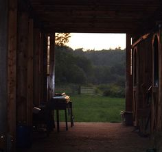 Barn doors open by pbearperry, via Flickr
