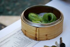 Spinach Dumplings from Yank Sing (Photo by Alisa Rod)