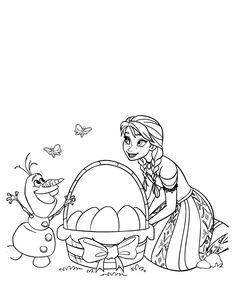 dibujos frozen para pintar