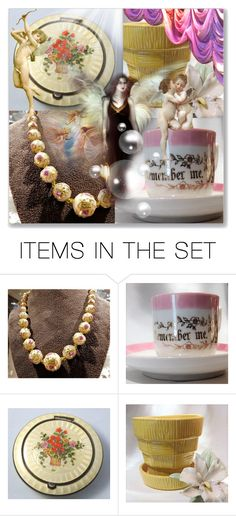 """""""Heavenly"""" by pattysporcelainetc ❤ liked on Polyvore featuring art, vintage and country"""