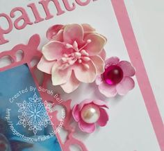 Foamiran Flowers made by Sarah Bell using Foamiran from Craft Box