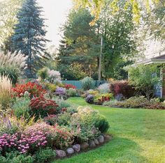 Far from winding down in autumn, this suburban Wisconsin garden is hitting some of its sweetest notes of the year.