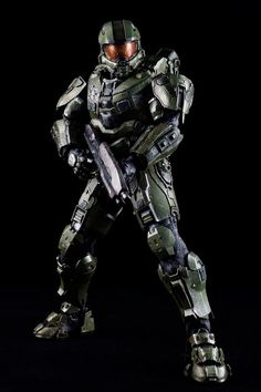toyhaven: Pre-order ThreeA Toys HALO 4 Master Chief Spartan Mark IV Sixth Scale Figure inches) Master Chief Armor, Halo Master Chief, Halo Cosplay, Halo Spartan, Halo Armor, Saitama One Punch Man, Halo Game, New Kids Toys, Starship Troopers