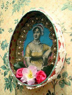 Homemade Jane Austen shrine